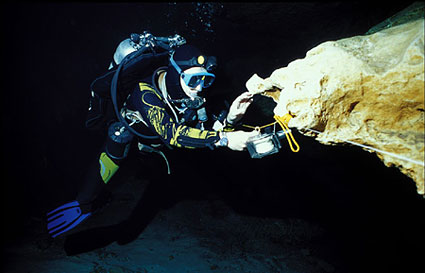 Cave Diving in Cenotes, Mexico