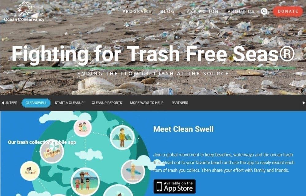 Impact of a worldwide coastal cleanup ~ ~ MarineBio