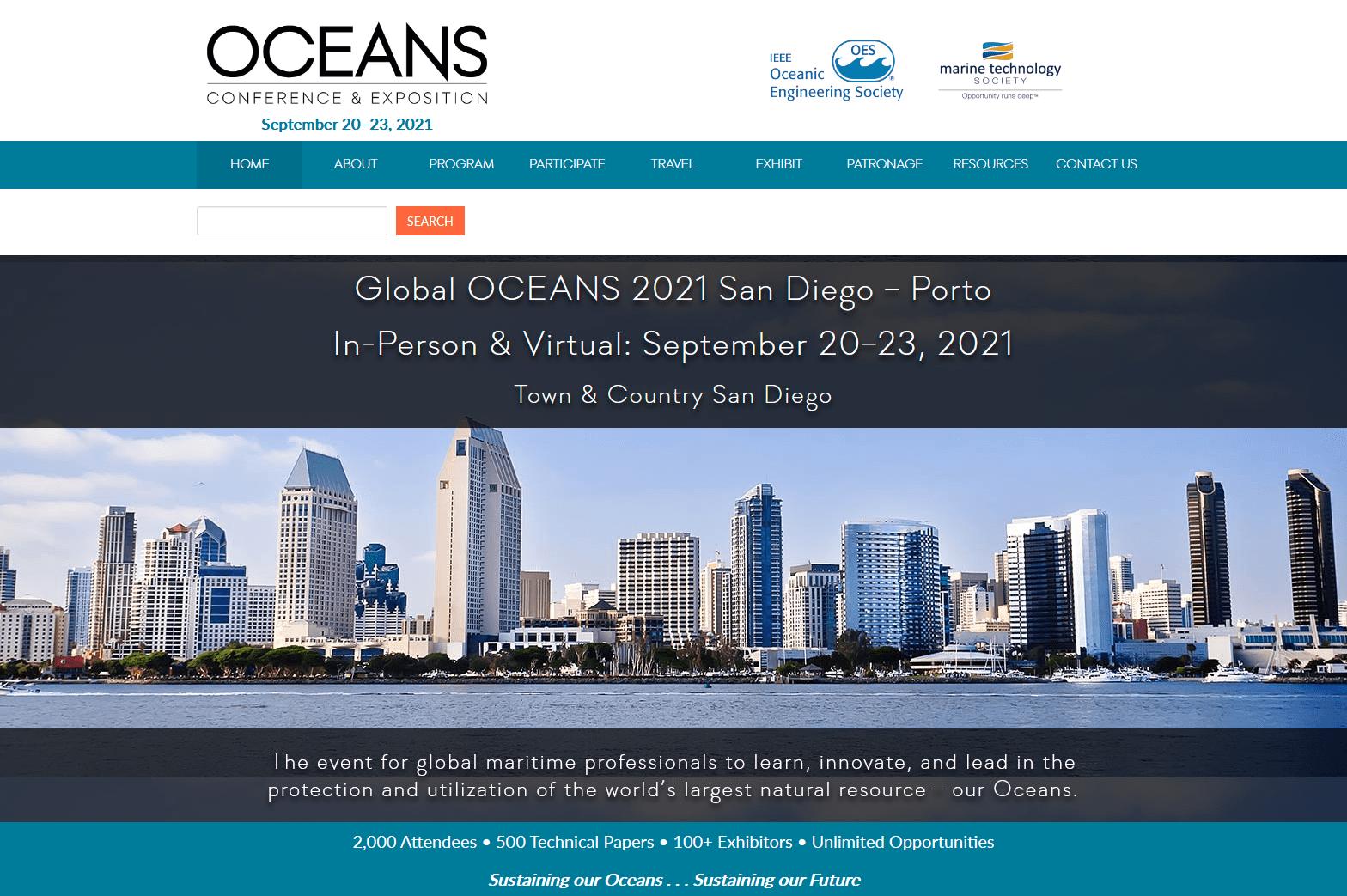 OCEANS 2021 San Diego