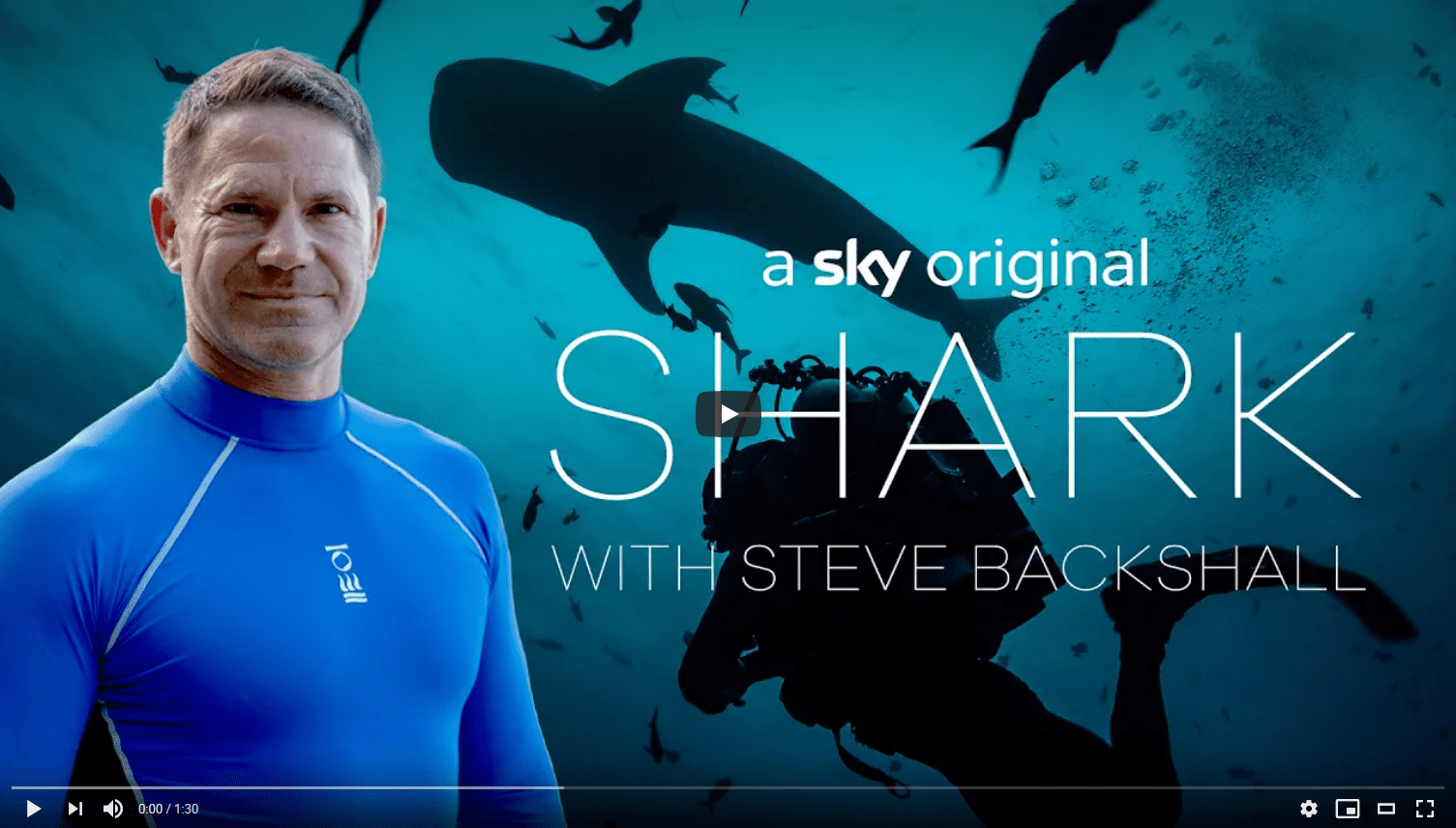 Shark with Steve Backshall First Look Trailer Sky Nature
